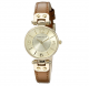 Anne Klein Watch - Gold Band with Diamond Dial